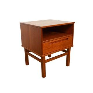 1970s Vintage Nils Jonsson Danish Teak Side Table For Sale