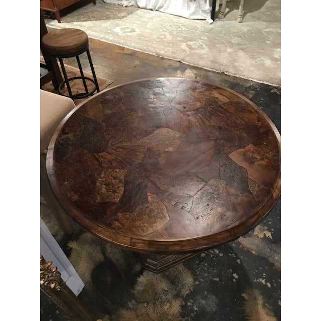 Traditional Taracea Zola Lamp Table For Sale In Denver - Image 6 of 13
