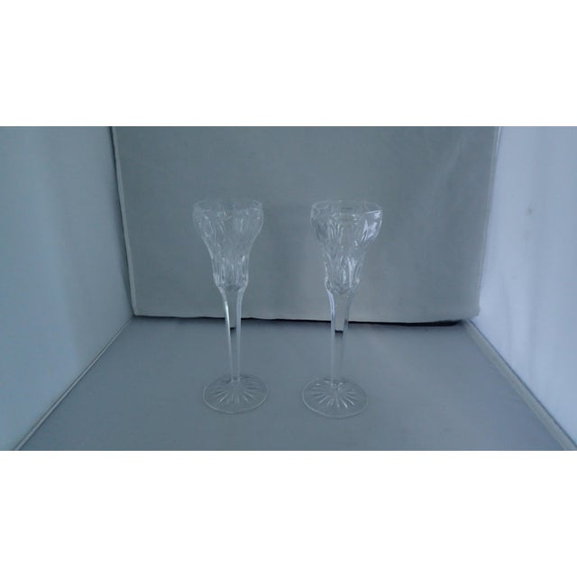 Elegant Marquis by Waterford Canterbury Candlesticks S/2 - Image 2 of 7