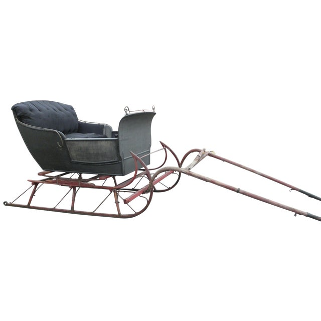 Antique Two-Passenger Sleigh - Image 1 of 10