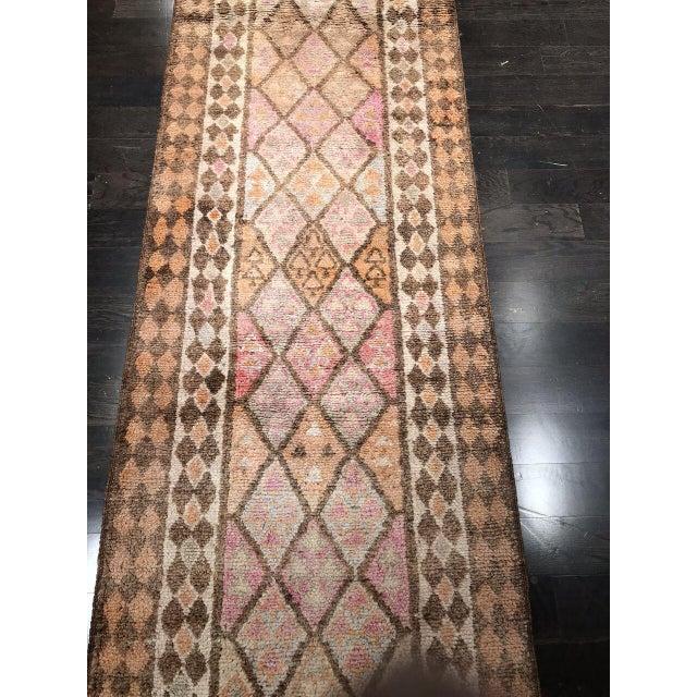 """Bellwether Rugs Vintage Oushak Long Runner """"Nazanin"""" Rug - 17' X 3'1"""" For Sale - Image 4 of 6"""