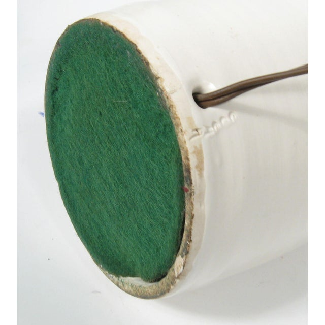 Mid-Century Pottery Lamp - Image 5 of 5