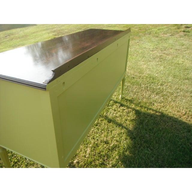Vintage Green Buffet/Sideboard - Image 3 of 5