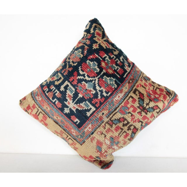 Antique Caucasian Rug Pillow For Sale - Image 5 of 10