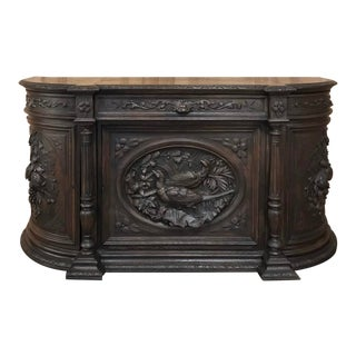 19th Century French Renaissance Hunt Buffet For Sale