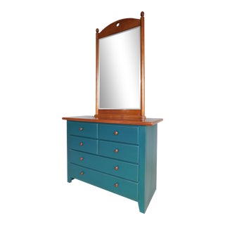 Thomasville Solitaire Collections Chest With Mirror For Sale