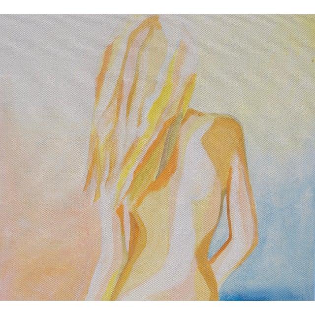 """""""Tequila Sunrise"""" Acrylic Painting - Image 2 of 2"""