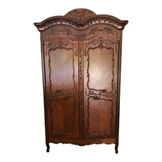 French Traditional Armoire For Sale