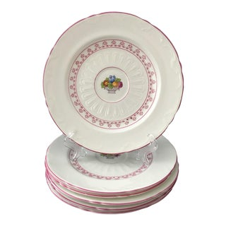 Crown Staffordshire Dessert Plates - Set of 6 For Sale