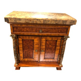 Vintage Neoclassical Credenza Tabletop Treasure Box For Sale