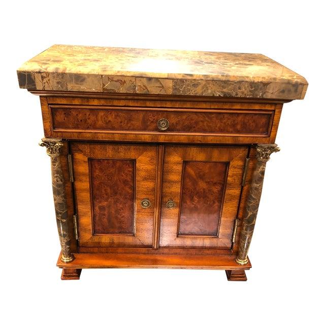 Vintage Neoclassical Credenza Tabletop Treasure Box For Sale