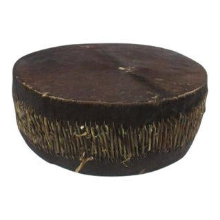 Antique African Tribal Drum