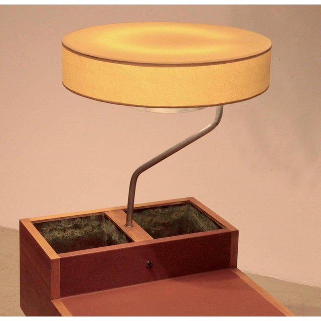 Wood George Nelson Planter and Lamp Table, Model 4634-L for Herman Miller For Sale - Image 7 of 10