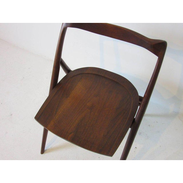 George Suyeoka Studio Chair Prototype in the Style of George Nakashima For Sale - Image 4 of 7