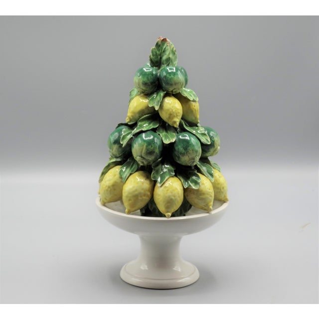 Italian Italian Lemon & Lime Fruit Topiary For Sale - Image 3 of 6
