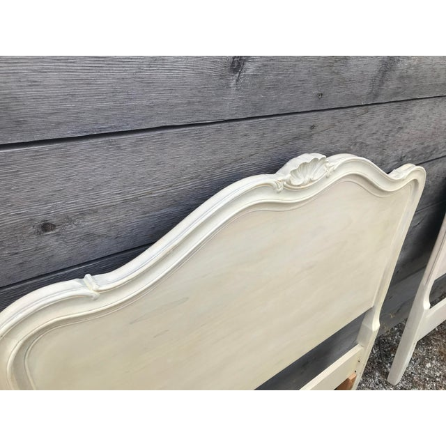 Drexel French Provincial Touraine Twin Head Boards - a Pair For Sale - Image 9 of 10
