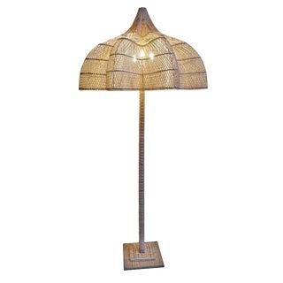 Matador Rattan Floor Lamp For Sale