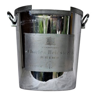 1930s Vintage Charles Heidsieck Champagne Ice Buckets For Sale