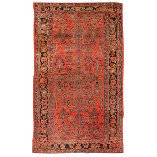 Antique Oversize Persian Lilihan Carpet For Sale