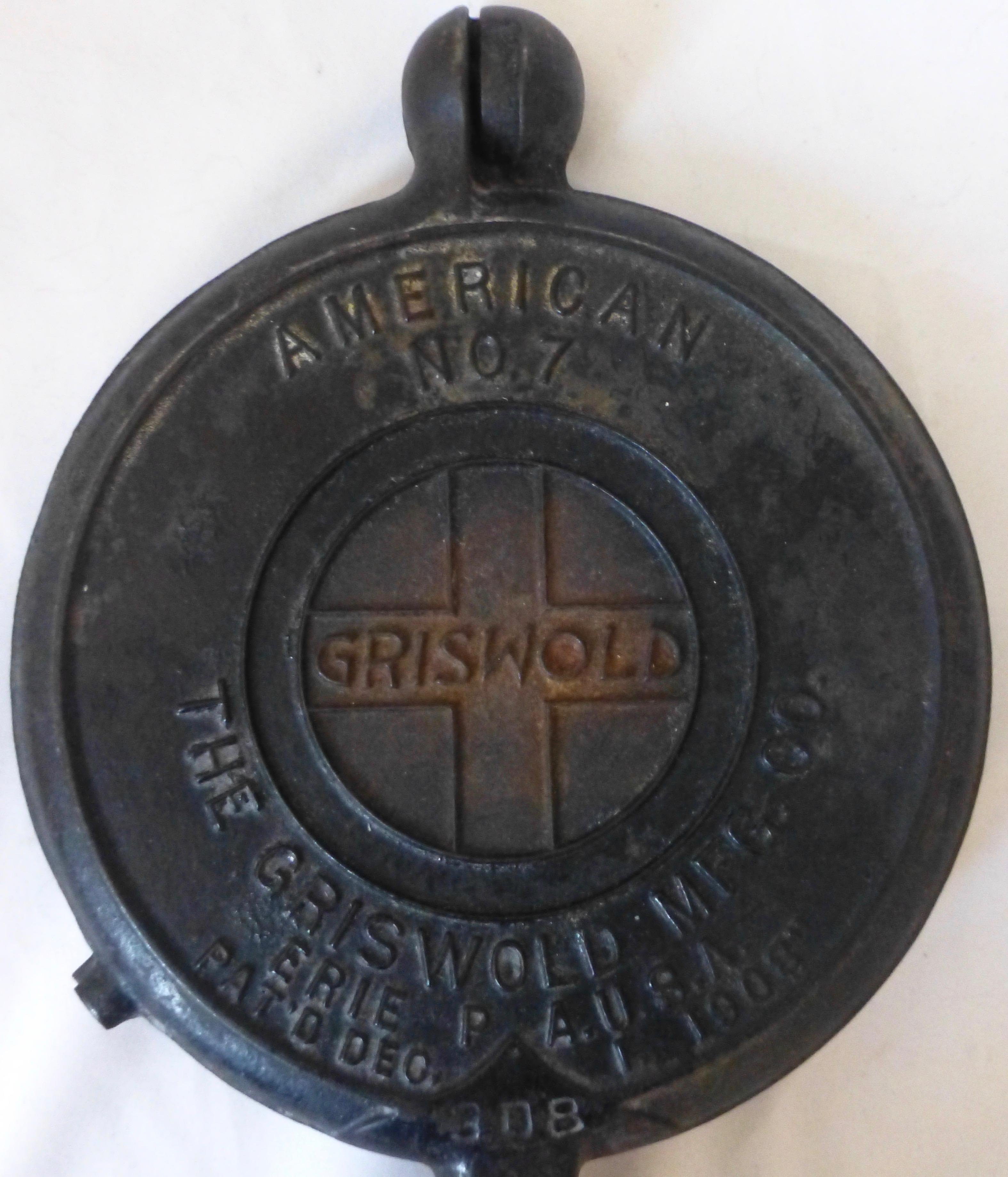Griswold cast iron dating sim