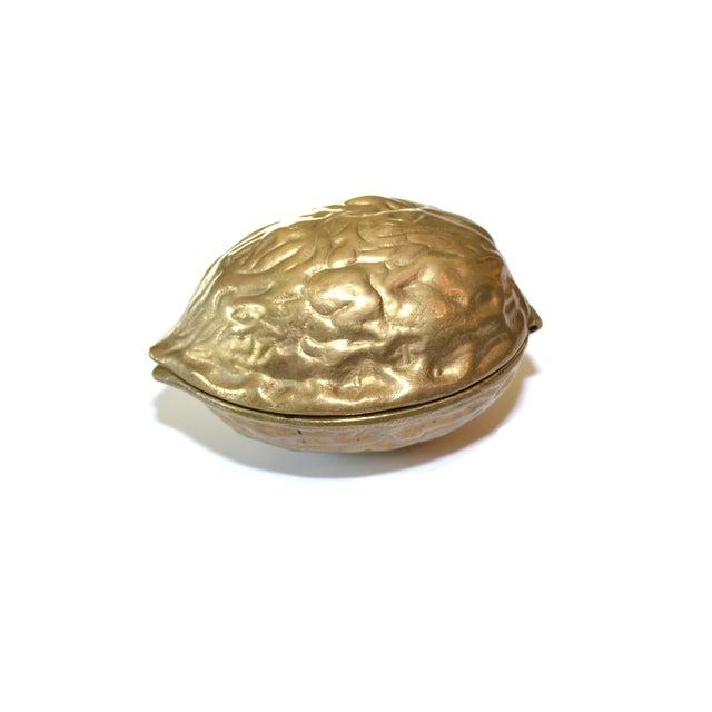 Vintage Brass Walnut Nutcracker - Image 2 of 6