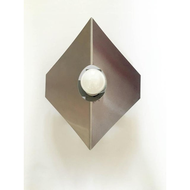 Metal Sconces in the Style of Max Sauze - A Pair - Image 2 of 10