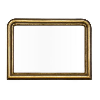 Large Louis Philippe Mantle Mirror