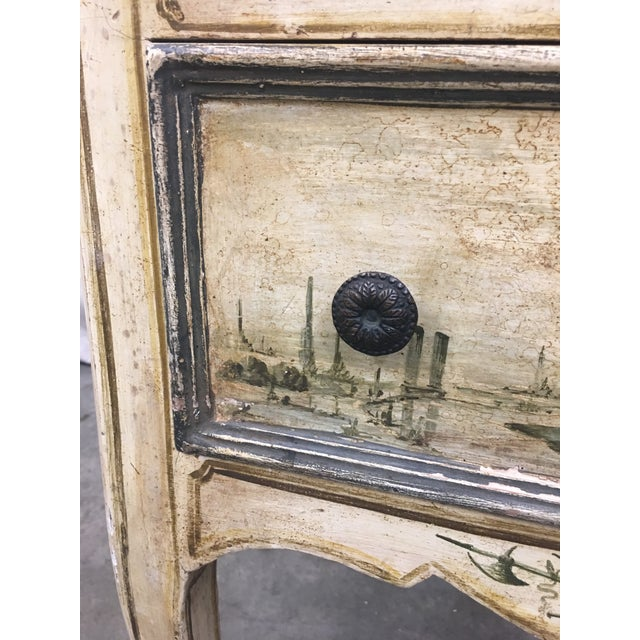 Mid 19th Century 19th C Venetian Petite Painted Chest of Drawers - Commode For Sale - Image 5 of 12