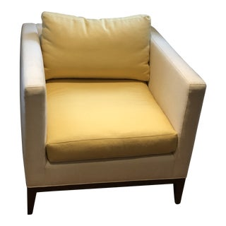 Baker Two Toned Lexicon Lounge Chair For Sale