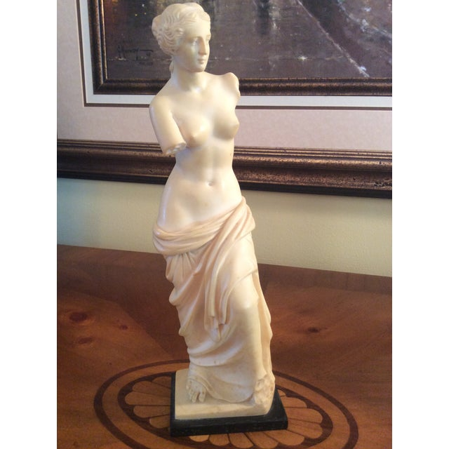 Vintage Arnoldo Giannelli Venus Recomposed Stone Sculpture For Sale - Image 12 of 12