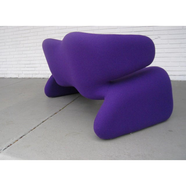 The Djinn sofa was designed by Olivier Mourgue in 1966 and produced by Airborne International, France. Restored and...