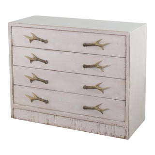 Beach House Antlers Commode For Sale