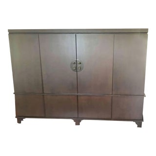 Custom Asian Style Storage Cabinet For Sale