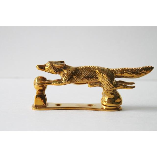 Brass Fox Door Knocker - Image 2 of 6
