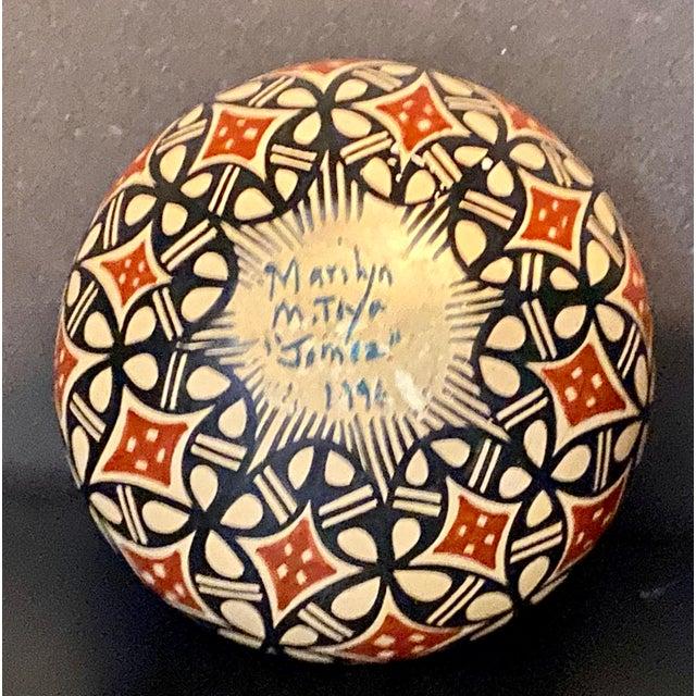 Vintage Pot by Jemez Pottery For Sale - Image 4 of 5