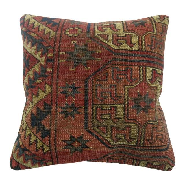 Turkeman Rug Pillow For Sale