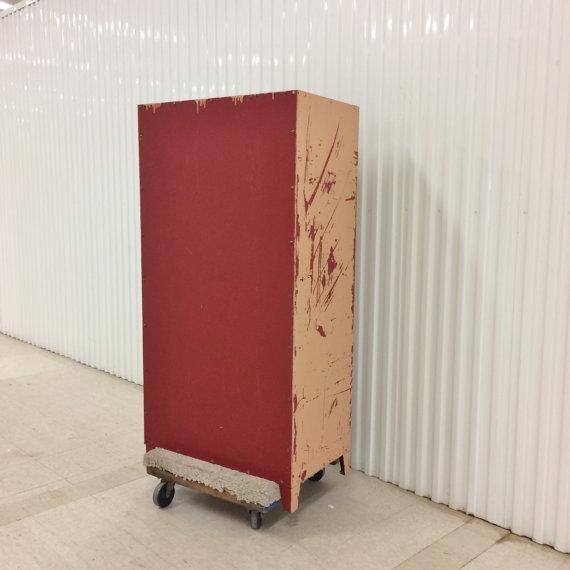 Vintage Industrial Steel Storage Cabinet - Image 5 of 6