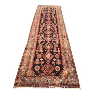"Vintage Persian Malayer Runner - 3'5"" x 11'6"" For Sale"