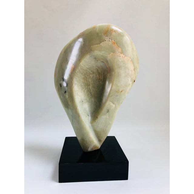 Noguchi Inspired Mid-Century Modern Abstract Biomorphic Marble Sculpture For Sale - Image 9 of 12