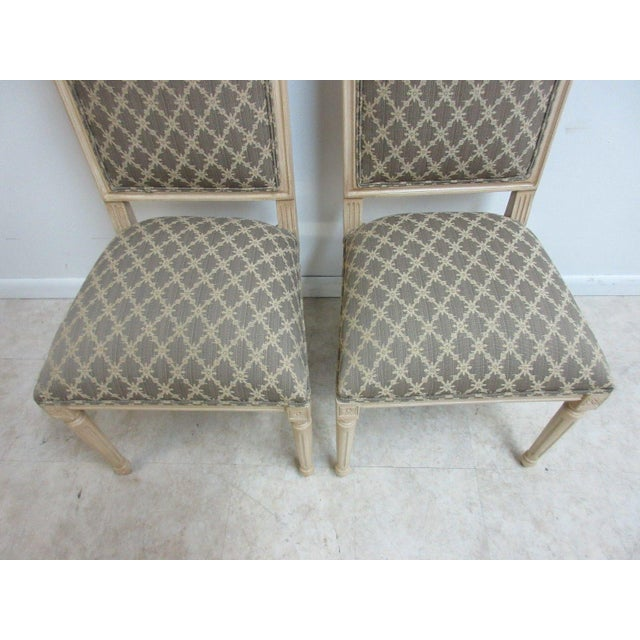 Ethan Allen Swedish Side Chairs - A Pair For Sale In Philadelphia - Image 6 of 11