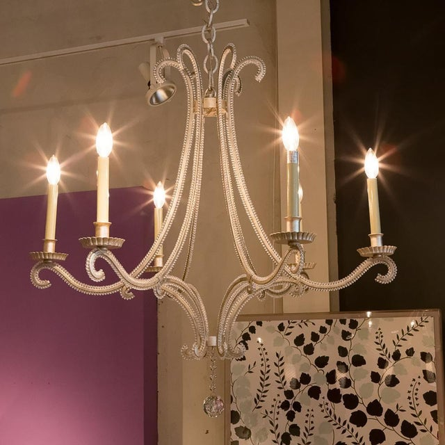 The E. F. Chapman Oslo Medium Chandelier by Visual Comfort is both a lovely and functional lighting fixture for your...