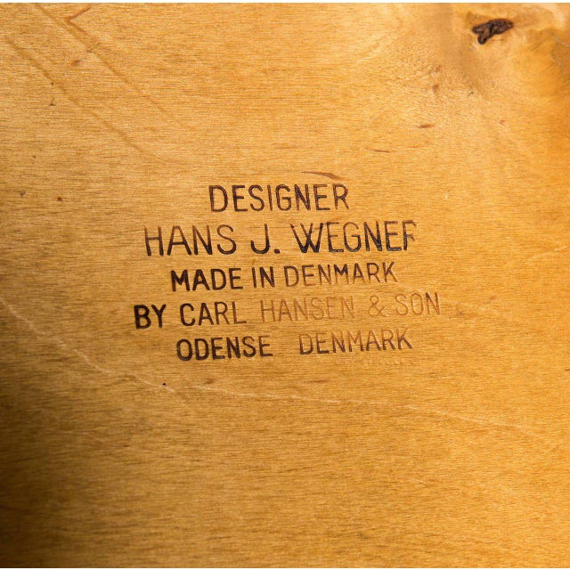 Hans Wegner CH-28 Lounge Chair For Sale - Image 10 of 10