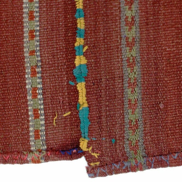 Vintage Turkish Kilim Flatweave - 5'8'' x 6'' - Image 3 of 5