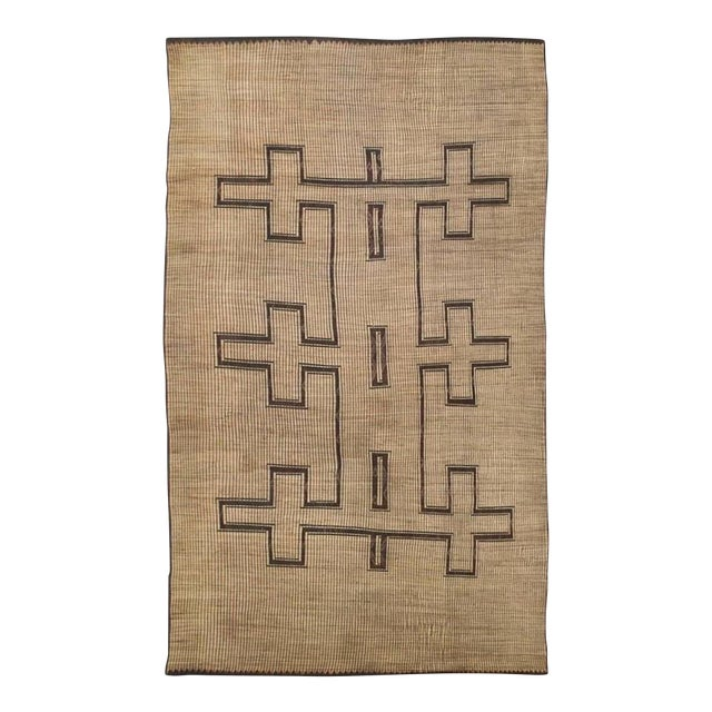 Rustic African Tuareg Woven Rug - 11′4″ × 19′ For Sale