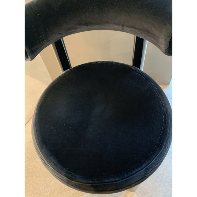 Tom Dixon Fat Bar Stool Cassia For Sale In Los Angeles - Image 6 of 10