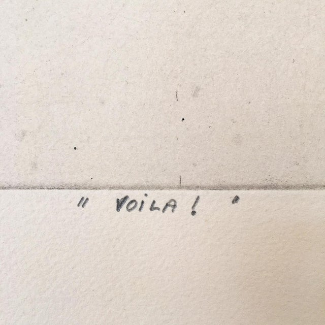 """Voila!"" Framed Aquatint Engraving - Image 5 of 7"