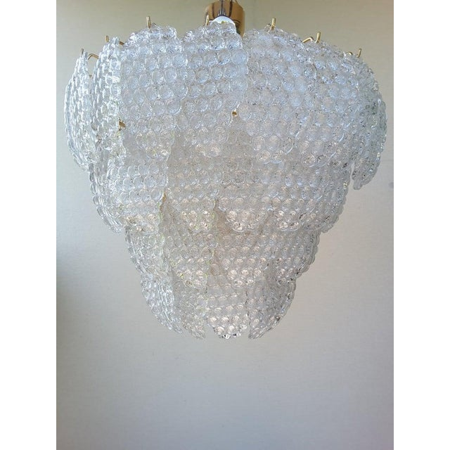 Murano Vintage Murano Glass Ball Room Chandelier For Sale - Image 4 of 12