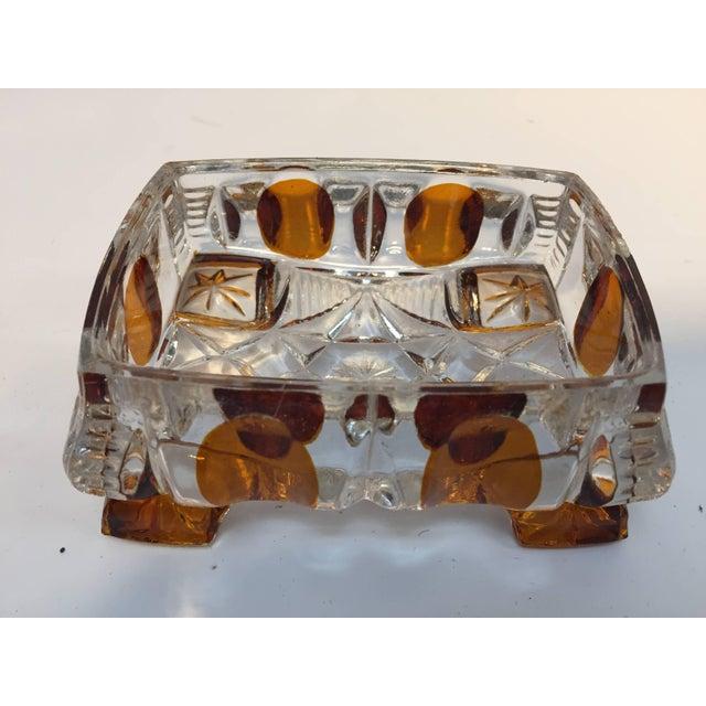 Crystal Art Deco Bohemia Karl Palda Crystal Vanity Set, 1930s For Sale - Image 7 of 10