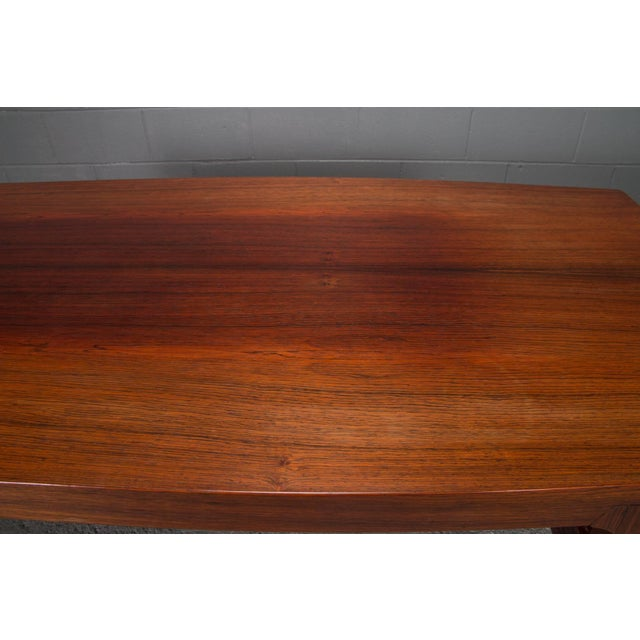 Mid-Century Danish Modern Rosewood Coffee Table For Sale - Image 9 of 10