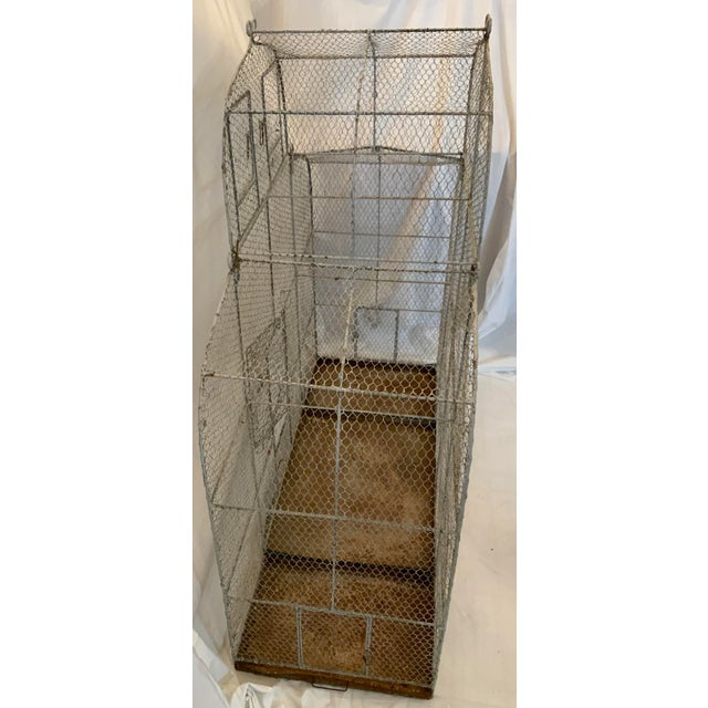 Vintage 1950s French Style Metal Birdcage For Sale In Los Angeles - Image 6 of 13